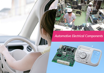 Electrical equipment for cars