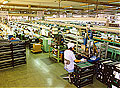 View of the line at the Hamamatsu South Factory (currently Fukushima Factory) in 1992.
