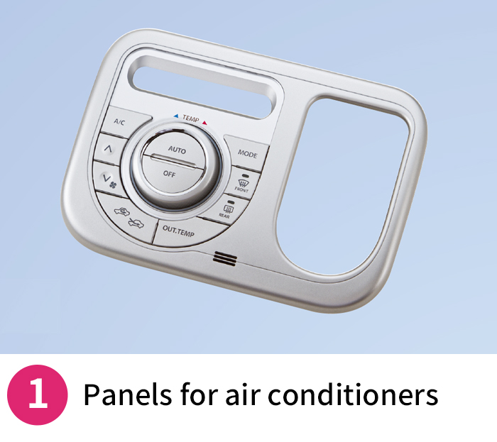Panels for air conditioners