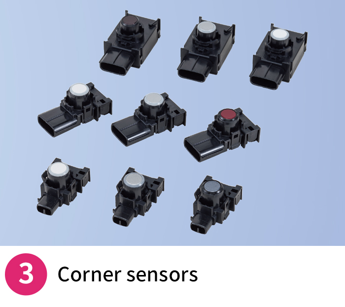 Corner sensors