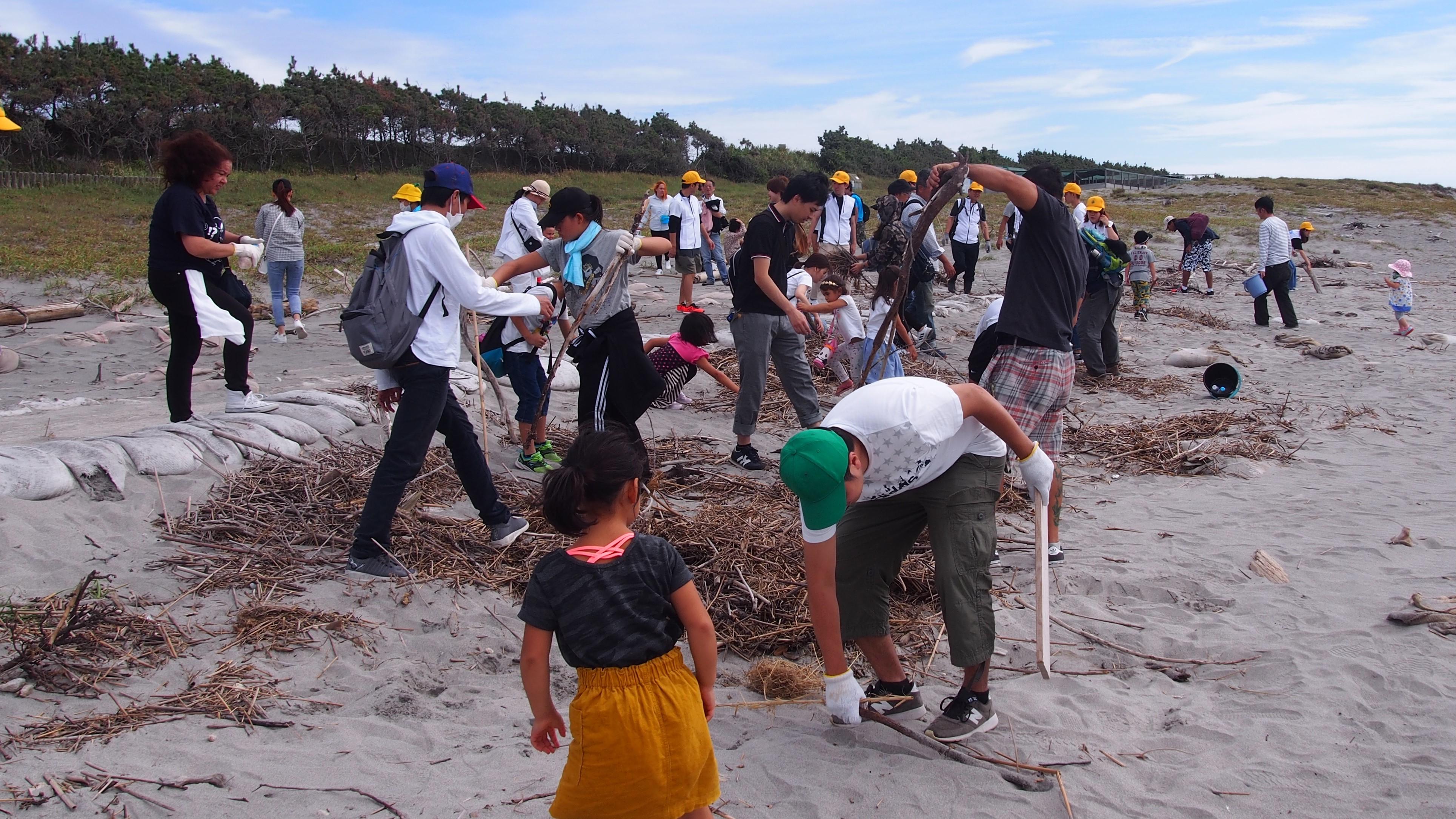 砂丘清掃活動